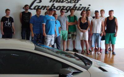 Itálie – Cesenatico – Lamborghini 2013