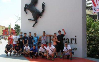 Itálie – Cesenatico – Ferrari 2014
