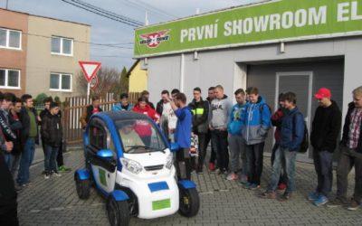 VELOR-X-TRIKE Showroom Elektromobility Ostrava 2016